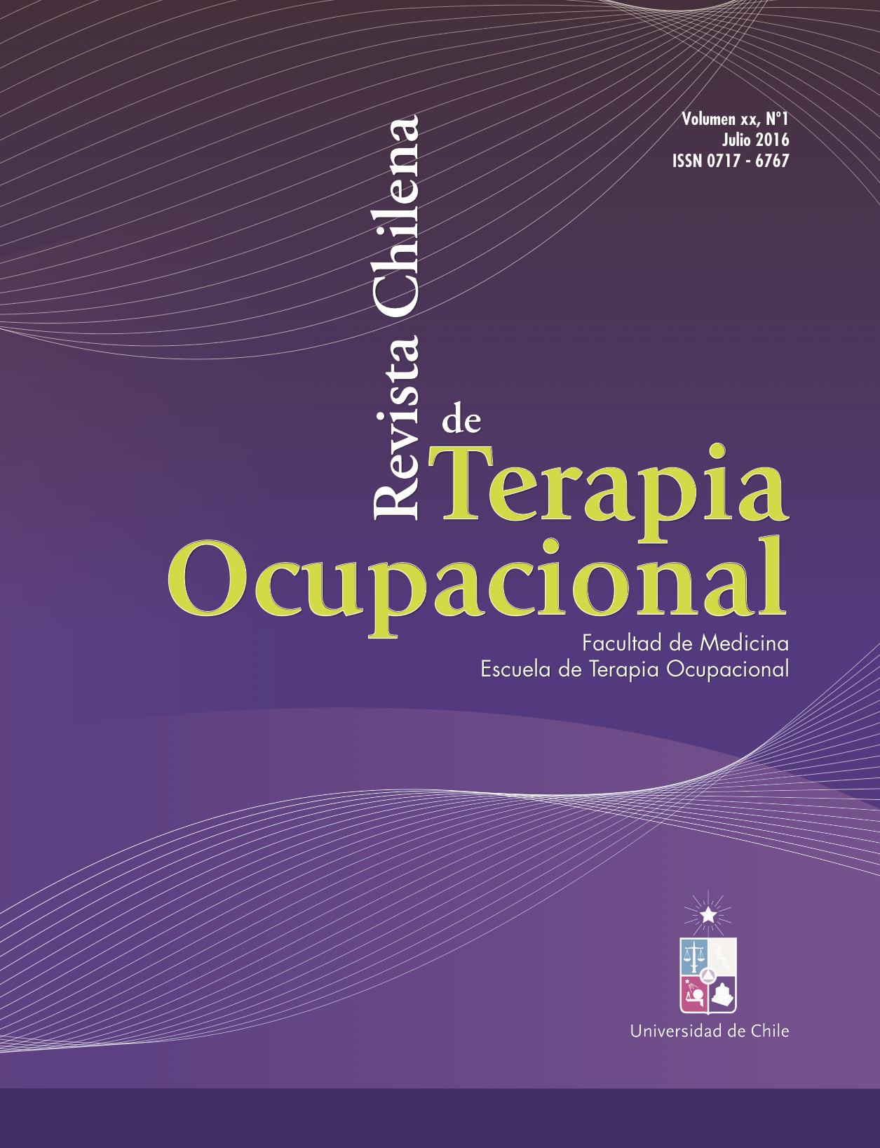 Revista Chilena de Terapia Ocupacional